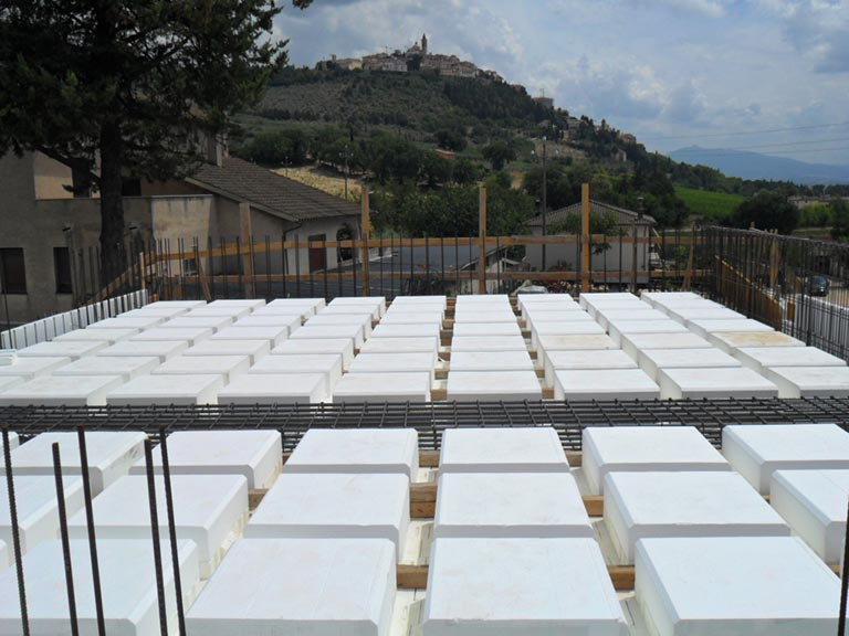 ICF Italia - Solaio bidirezionale Foligno 01