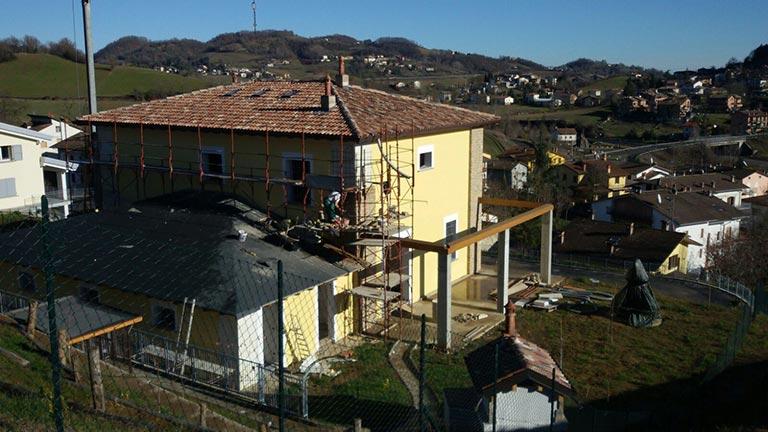 ICF Italia - Edificio monofamiliare Reggio Emilia