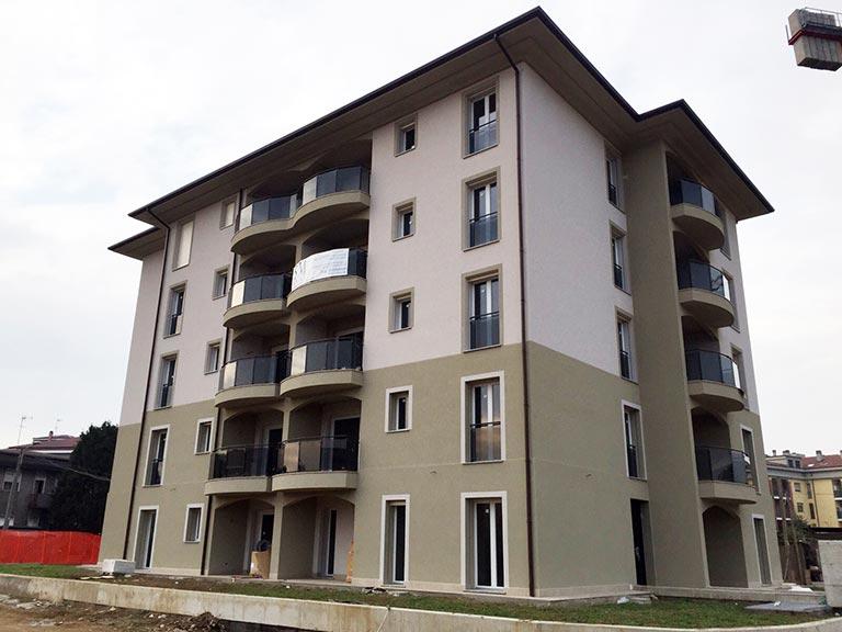 ICF Italia - Edificio pluripiano Monza 01