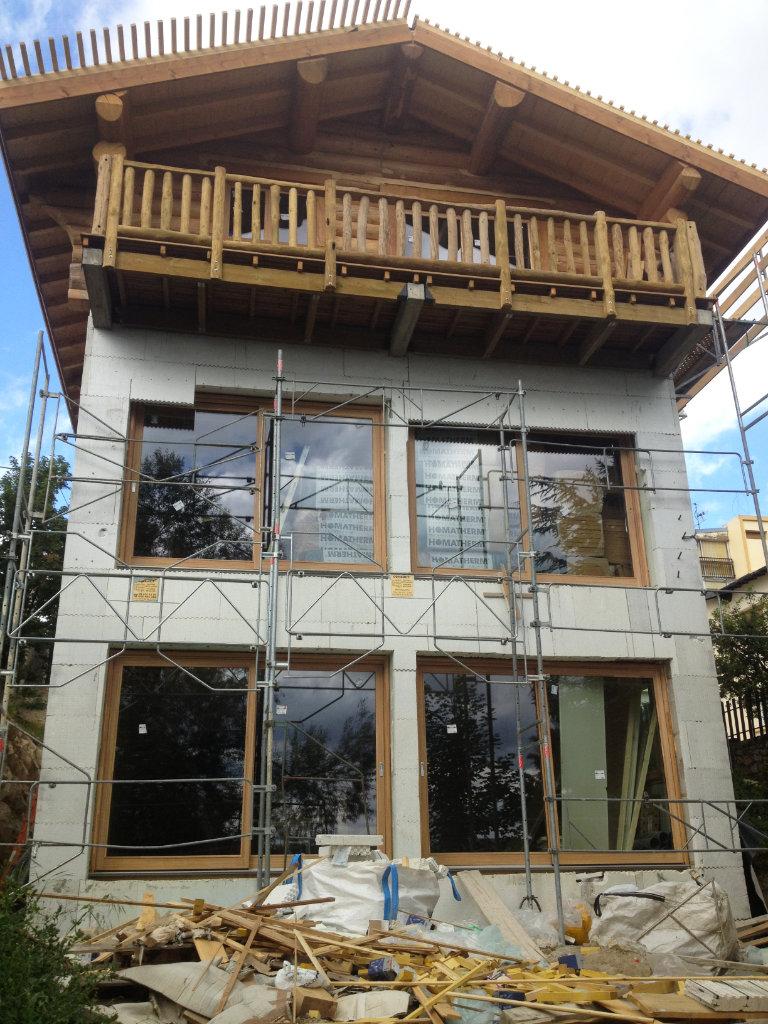 Edifici con struttura mista ICF-legno