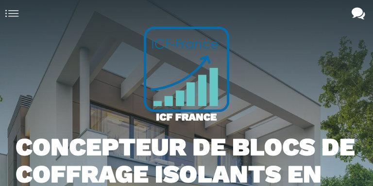 Screenshot ICF France