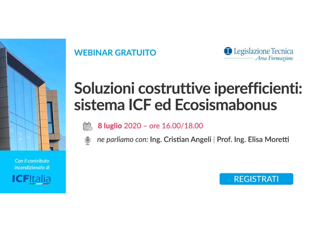 Webinar ICF - Soluzioni costruttive iperefficienti: